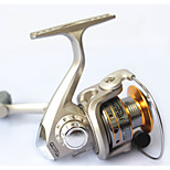 6 Ball Bearings Spinning Reels Gear Ratio 5.1:1 Exchangable hand Spinning Fishing Reel -SG6000A Random Colors