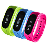 2 In 1 Bluetooth Earphone Smart Bracelet Wristband OLED Screen Pedometer