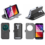 Flip Leather cellphone Case Cover Holder Stand For ASUS Zenfone2 Laser ZE500kl 5