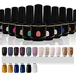 Newest Popular Top Fashion  Soak-off UV & LED Gel Polish (15ml,73-90 Colors)