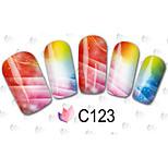 40sheets  Mixed Cartoon Flower Water Transfer Sticker Nail Art Beautiful DIY NC082