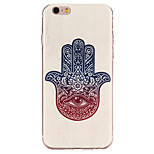 Finger Flower Pattern TPU Soft Case Phone Case for iPhone 6/6S
