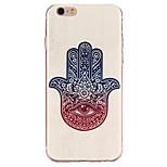 motif doigt de fleurs tpu étui souple étui de téléphone pour iphone 6 / 6s