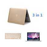 2016 Top Selling Solid Color Aluminum MacBook Case with Keyboard Cover and Screen Flim for MacBook Pro 13.3 inch