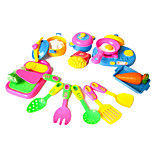 11pcs Cooking Pretend Play Toys DIY Toys Set