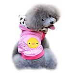 Dog Coat Pink / Yellow Winter Fashion
