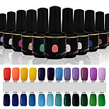 Newest Popular Top Fashion  Soak-off UV & LED Gel Polish (15ml,25-48 Colors)