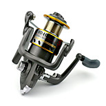 7 BB Spinning Reels Gear Ratio 5.2:1 Metal Spinning Fishing Reel HD40 Random Colors