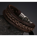 de acero de titanio zurriago principal de la capa hebilla de los hombres de la pulsera de anclaje