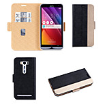 PU Leather Flip Cover Wallet Card Case for ASUS Zenfone2 Laser ZE500kl 5