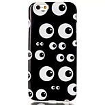 Multi-Eye Pattern TPU Material Phone Case for iPhone 6/6S
