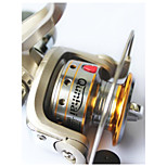 6 Ball Bearings Spinning Reels Gear Ratio 5.1:1 Exchangable hand Spinning Fishing Reel -SG5000A Random Colors