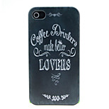 High Quality and Inexpensive Pattern Hard Case for iPhone 4/4S