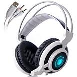 Sades arcmage 3,5 mm juegos de PC más de la oreja los auriculares estéreo de juego de auriculares con micrófono&control del volumen