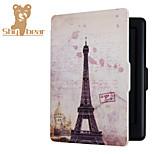Magnetselbstschlaf nehmen Abdeckung Fall harte Schale für kobo Note 2.0 Eiffelturm 6.0inch