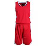 Hauts/Tops / Bas / Shirt ( Blanc / Rouge / Noir / Bleu ) - Fitness / Basket-ball - Sans manche - Homme