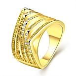 Unique Alien Woman Diamond Ring