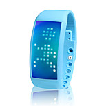 LED Smart Wristband Watch 3D Pedometer with 8G Capacity