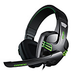 iRainy KX-101 Salar Series 4.0mm Stereo Sound PC Gaming Headset with PC Remote