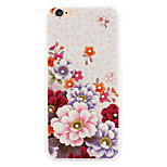 Begonia Flower diamond phone shell painted reliefs apply  for  iPhone6 plus|6s plus