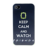 Watch the Pattern Pattern Hard Case for iPhone 4/4S