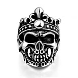Ring Stainless Steel Skull / Skeleton Classic Silver Jewelry Halloween Daily Casual Sports 1pc