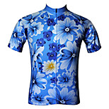 JESOCYCLING Women's Spring And Summer Breathable Short Sleeve Cycling Jersey Cycling Top