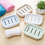 2016 NEW Japanese Fresh Soap Box Plastic Drain Hand Soap Thicken Creative Travel Soap Box