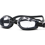 Swimming Goggles Unisex Anti-Fog / Waterproof Silica Gel PC White / Black / Blue Red / Black / Blue