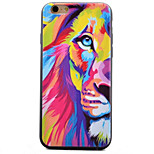 Choi Lion Butterfly Pattern TPU Material Phone Case for iPhone 6 Plus/6S Plus