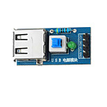 USB Power Converter Module for Arduino+Raspberry Pi - Blue