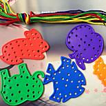 jouets de bricolage animaux couture en forme de kit de construction de blocs de construction (13 pièces)