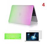 meistverkaufte Regenbogen PVC-macbook Fall mit Tastaturabdeckung und Bildschirm flim für macbook Retina 15,4 Zoll