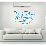 AYA™ DIY Wall Stickers Wall Decals, Welcome PVC Wall Stickers