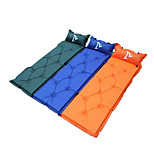 Outdoor Camping Blow-Up Lilo/Dampproof Mat - Random color