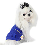 Dog Coat Green / Blue Summer Fashion
