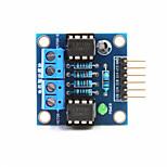 2-Way DC Motor Drive Module for Arduino+Raspberry Pi - Blue