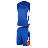Hauts/Tops / Bas / Shirt ( Blanc / Vert / Rouge / Noir / Bleu / Orange ) - Fitness / Basket-ball - Sans manche - Homme
