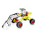 Snow Plough Engineering Vehicles  Puzzles Magical Alloy Model DIY Toys Modeling Toys