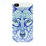 Fox Pattern Pattern Hard Case for iPhone 4/4S