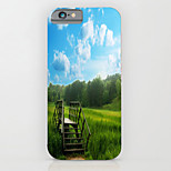 Pastoral Scenery Pattern PC Phone Case Hard Back Case Cover for iPhone6/6S Plus