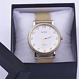 Gold Watch Full Stainless Steel Woman Fashion Dress Watches New Geneva Quartz Watch Best Quality