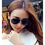 Sunglasses Unisex's Elegant / Fashion Round Silver Sunglasses / Sports Full-Rim
