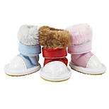 Hunde Socken & Schuhe Rot / Blau Sommer Modisch