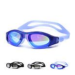 Swimming Goggles Unisex Waterproof Silica Gel PC White / Black / Blue Green / Black / Blue / Gold / Silver