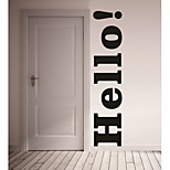 AYA™ DIY Wall Stickers Wall Decals, Hello PVC Wall Stickers