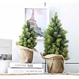 Linen / Plastic Wedding Decorations - 1Piece/Set Artificial Flower Christmas Garden Theme Green