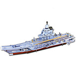 Chinese aircraft carrier Liaoning 3D Puzzles Paper DIY Toys Moulding Toys