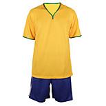 Alpinismo / Esportes Relaxantes / Futebol - tops / Fundos ( Amarelo ) - Homens -Respirável / Permeável á Humidade / Secagem Rápida /