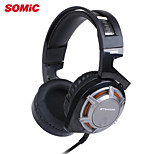 Somic G926 Professional USB Gaming Headset, Brand New Gaming Headphone with Fixed Mic & LED light For PC Game